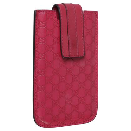 Gucci BlackBerry Handycase in Rot