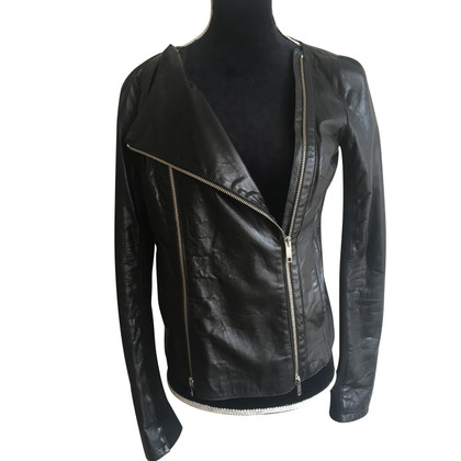 Iceberg Lamb Leather Jacket