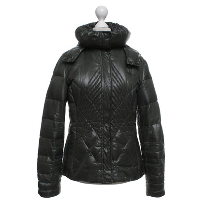 Blauer USA Quilted jacket with detachable hood