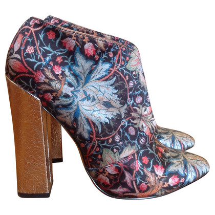 Just Cavalli Ankle boots with floral pattern