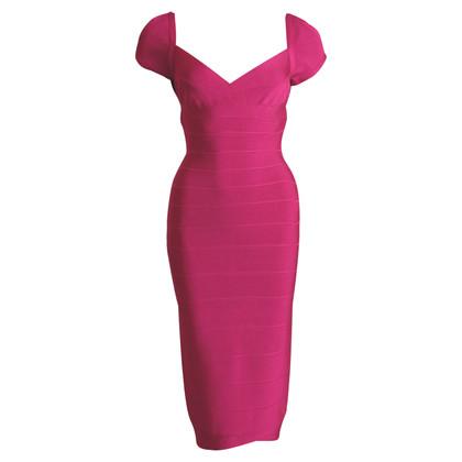 Herve Leger Figurbetontes Kleid