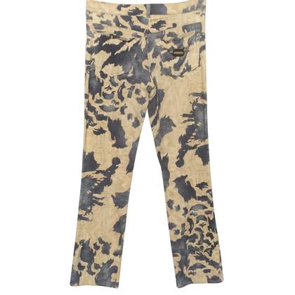Roberto Cavalli trousers camouflage