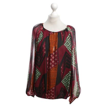 Diane von Furstenberg blouse Multicolor