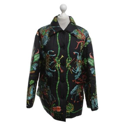 Hermès Silk jacket with print