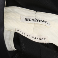 Hermès trousers in black