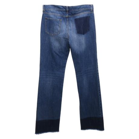 Blau Blau Red Jeans Jeans Valentino Blau Valentino in Red in 6wqxBz
