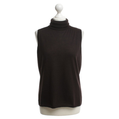 Rena Lange Knit-top in dark brown
