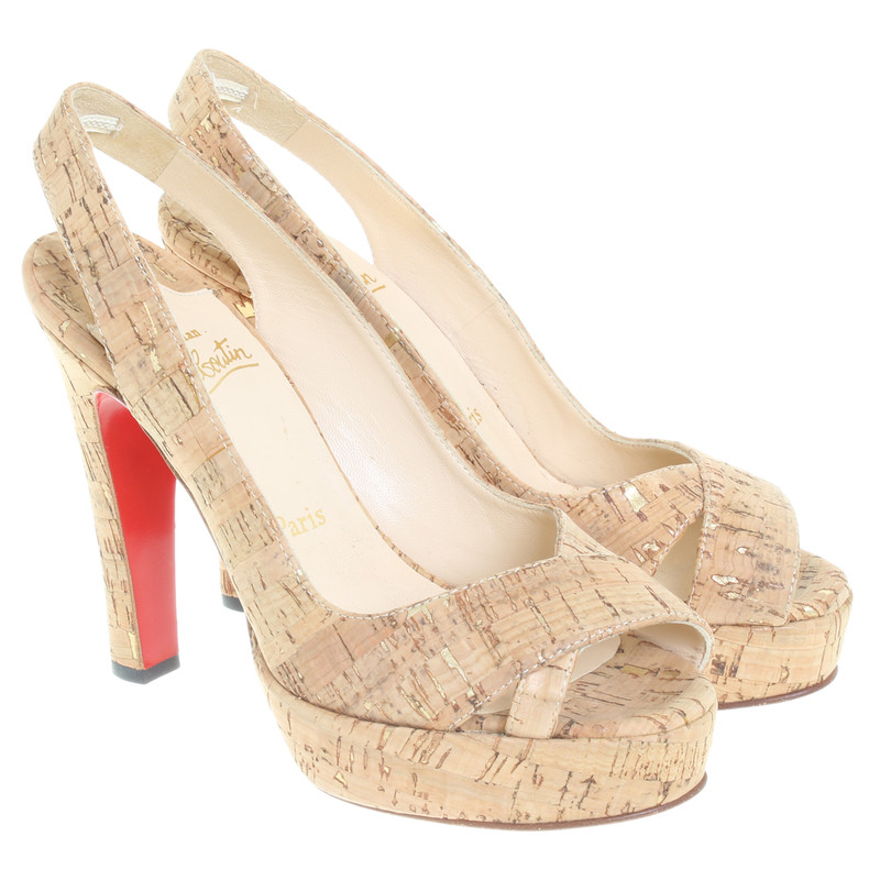 Christian Louboutin Sandals Cork