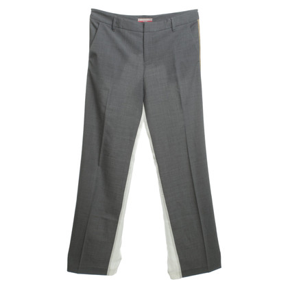 Stefanel Trousers with material mix