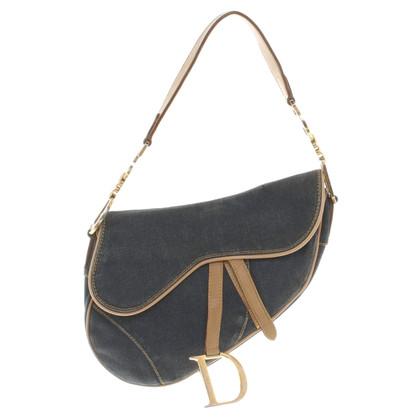 """Christian Dior """"Saddle Bag"""" aus Denim"""
