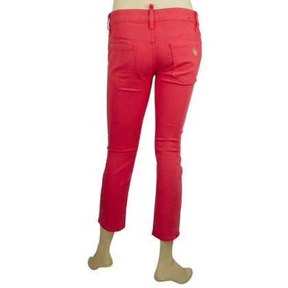 Dsquared2 Pink capri pants