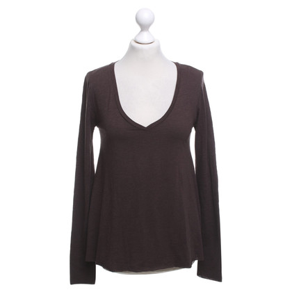 American Vintage top in brown