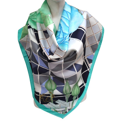 Christian Dior motifs Foulard soie