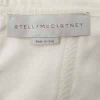 Stella McCartney Corsagenkleid in Creme