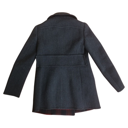 Prada Double breasted jacket in dark gray
