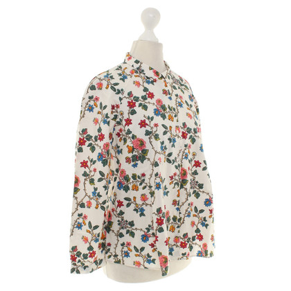Cos Blusa in crema / Multicolor