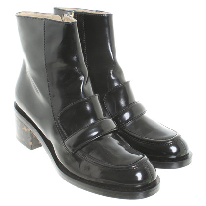 Stella McCartney Ankle boots with tortoiseshell pattern