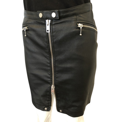 Diesel Black Gold leather skirt
