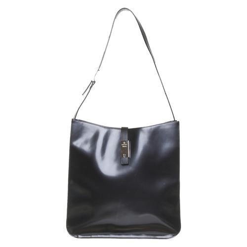 zum halben Preis Großhandelsverkauf Genieße den reduzierten Preis Aigner Handtasche aus Leder in Schwarz - Second Hand Aigner ...