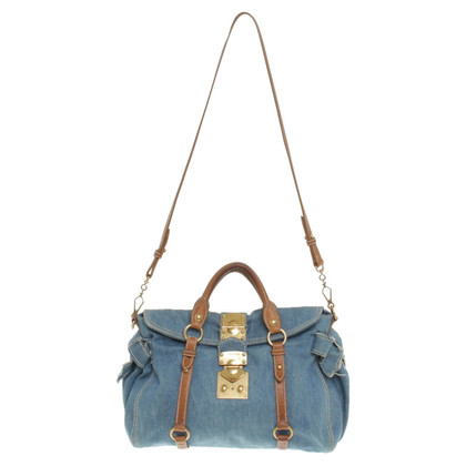 Miu Miu Bag in jeans look