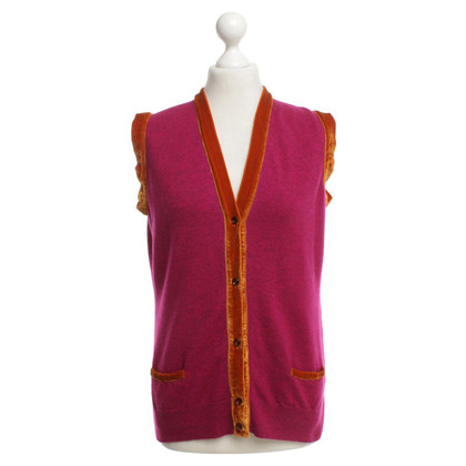 Etro Cardigan en rose / orange