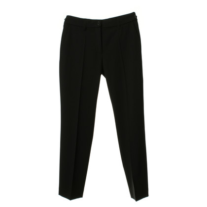 René Lezard Trousers in black