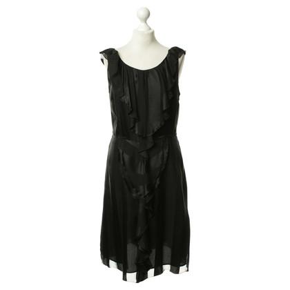 Moschino Cheap and Chic Jabot van jurk in zwart
