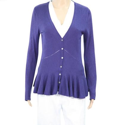 Hobbs wool jumper in dark blue