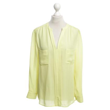 Laurèl camicetta di seta gialla