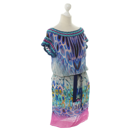 Alberta Ferretti Silk dress with print