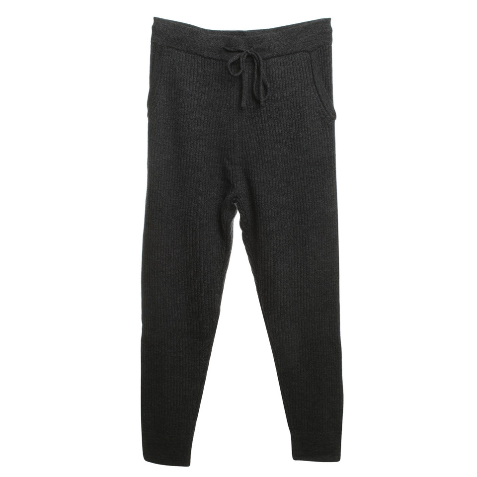 Iro Wool trousers in gray