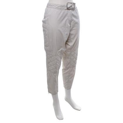 Prada 7 / 8-trousers in cream