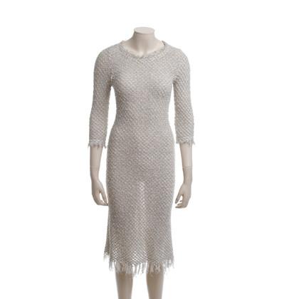 Isabel Marant Etoile Knit dress in beige/black