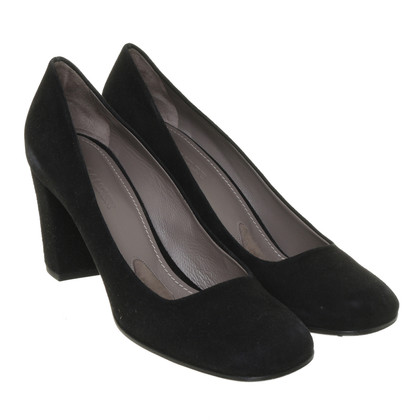 Jil Sander pumps in zwart