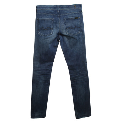 """7 For All Mankind Jeans """"Cristen"""" in Blau"""