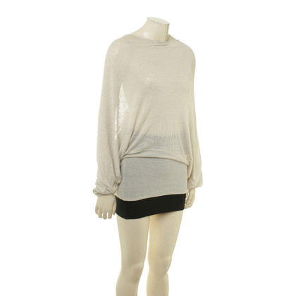 By Malene Birger Fine knit sweater in beige