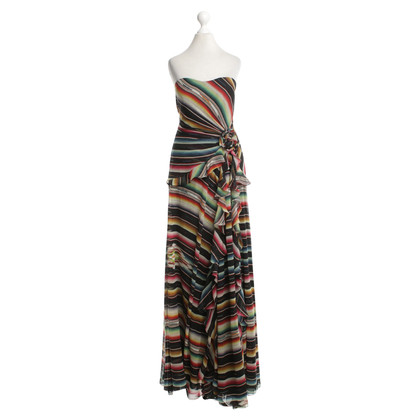 Ralph Lauren Black Label Colorful silk dress