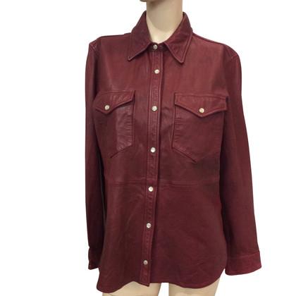 Isabel Marant Etoile Leather shirt
