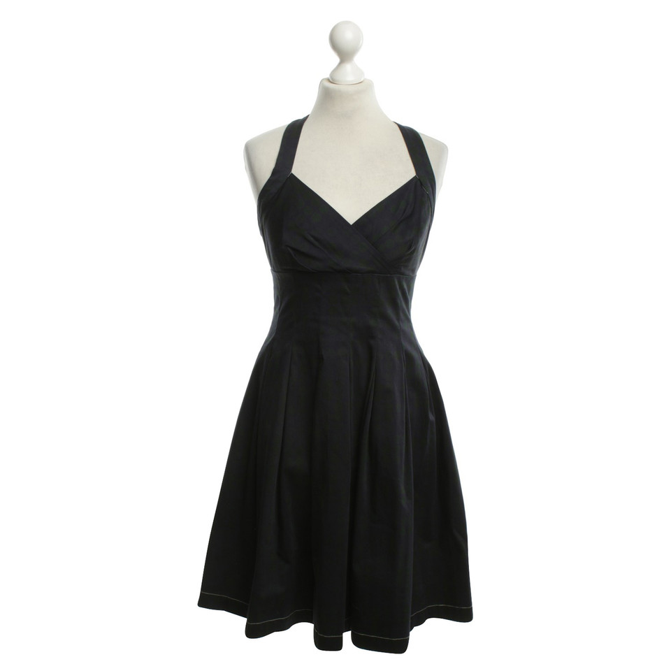 Calvin Klein Fitted dress in blue / green