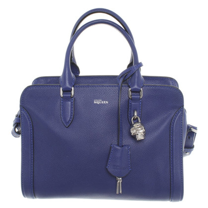 "Alexander McQueen ""Padlock Bag"" in blue"