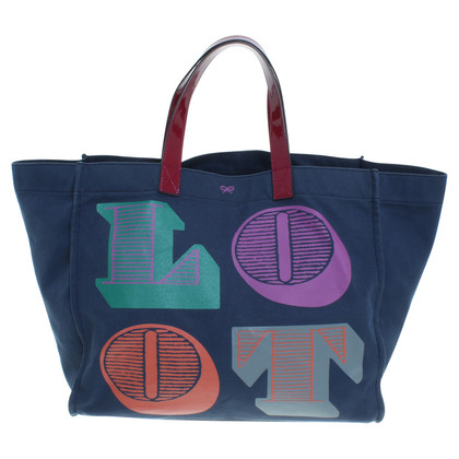 Anya Hindmarch Textil Shopper