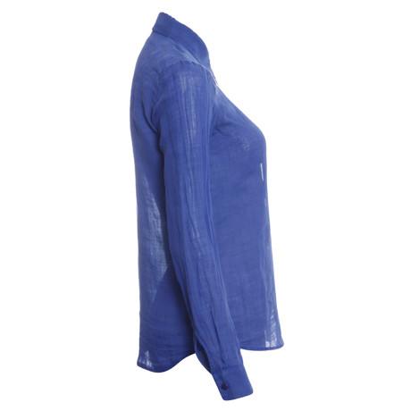 Blau Theory Leinenbluse Theory Blaue Blau Leinenbluse Leinenbluse Blaue Blau Blaue Theory qx41BwpT