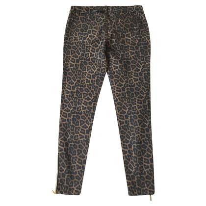 Michael Kors Jeans mit Leopardenprint