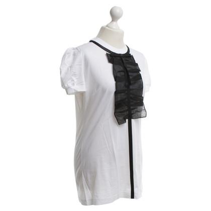 Dolce & Gabbana T-shirt with frills details