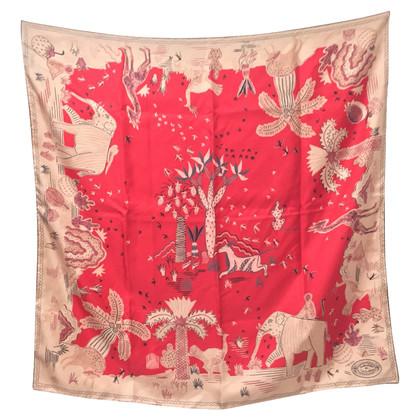 Valentino Silk scarf with print