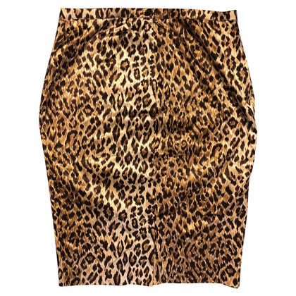 D&G Gonna con motivo leopardo