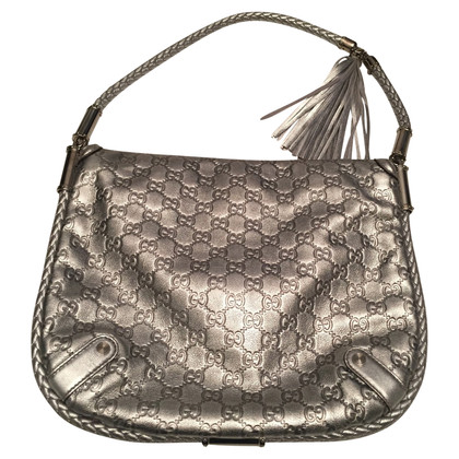 Gucci Handbag in silver