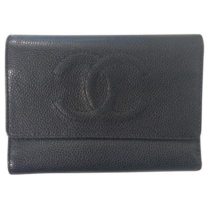 Chanel Portafoglio in black