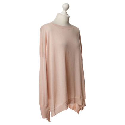 Marc Cain Knitted sweater in light pink