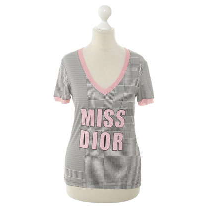 "Christian Dior T-Shirt with ""Miss Dior"" - print"